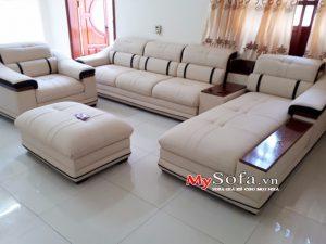 bán ghế sofa da cao cấp tại bắc ninh
