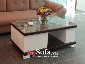 bàn sofa mặt đá đẹp