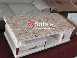 bàn sofa nhập khẩu, bàn sofa mặt đá sang trọng