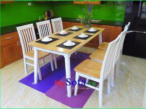 bàn ghế ăn hiện đại