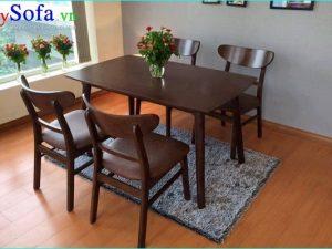 Bộ bàn ghế ăn nhỏ đẹp giá rẻ
