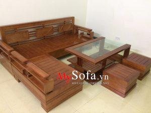 bàn ghế sofa gỗ đẹp bắc ninh