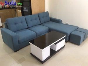 bán sofa nỉ đẹp kê phòng khách gia đình