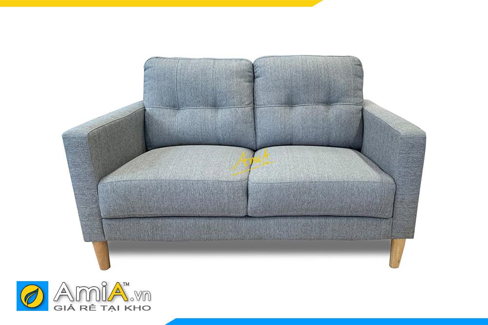 hình ảnh sofa văng đôi 2 chỗ ngồi bọc vải nỉ