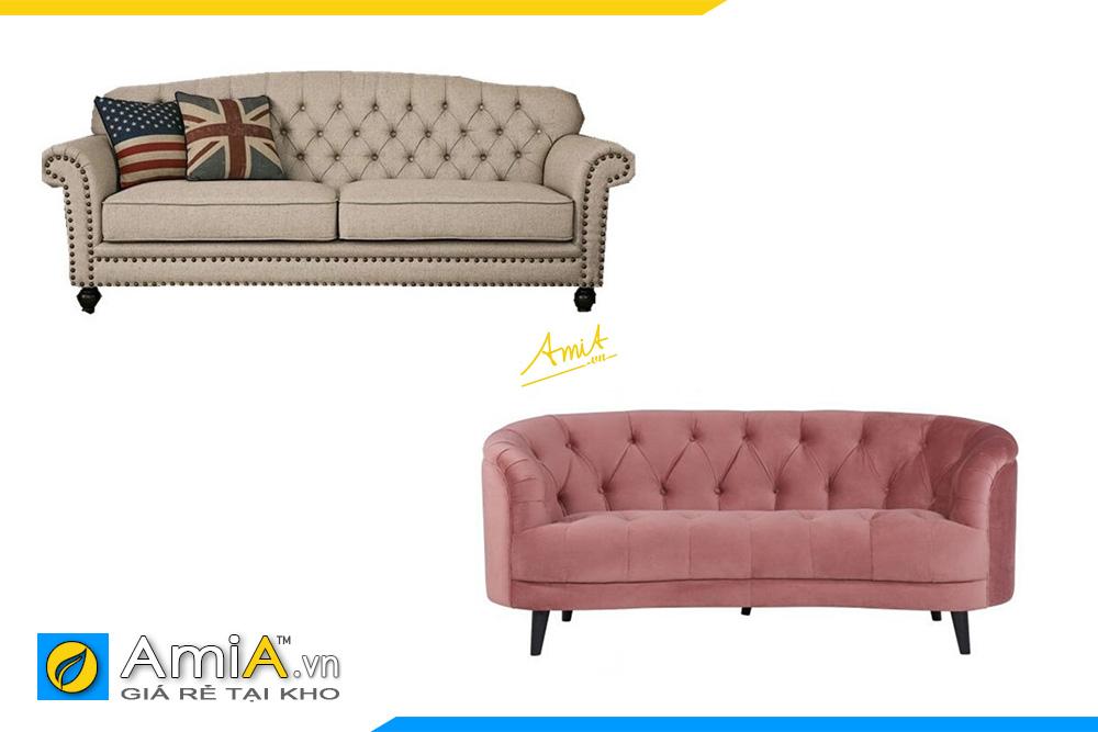 hình ảnh sofa văng 2 chỗ ngồi đẹp