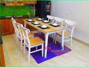 bàn ghế ăn hiện đại trẻ trung