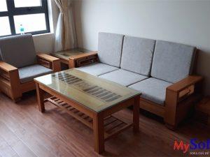 bán ghế sofa gỗ đẹp tại bắc ninh