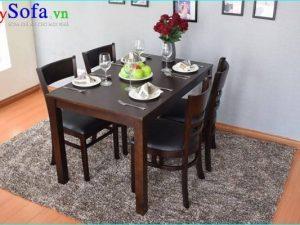 Set bàn ăn 4 ghế nhỏ đẹp giá rẻ