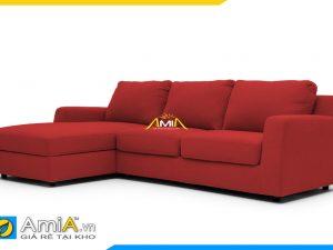Hình ảnh soHình ảnh sofa đẹp bọc vải nỉ màu đỏ. Kê phòng khách gia đình hay văn phòng công ty cũng đều rất hợp.fa đẹp bọc vải nỉ màu đỏ. Kê phòng khách gia đình hay văn phòng công ty cũng đều rất hợp.